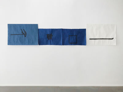 Richard Tuttle, 'What if we lose?', 2019