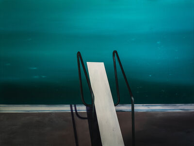 Laurence Jones, 'Tranquil Plaza Pool', 2019