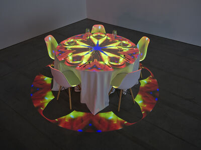 Pipilotti Rist, 'Streichelnder Nachtmahl Kreis 25 Knickerbocker Ave (Caressing Dinner Circle 25 Knickerbocker Ave)', 2020