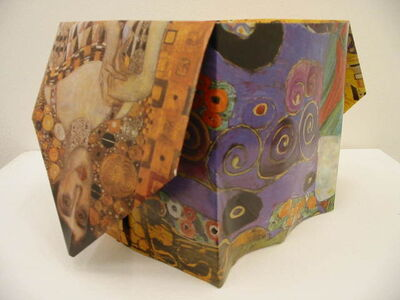 Pierre Bismuth, 'Origami boxes: one thing made of another, one thing used as another (Gustav Klimt)', 2004