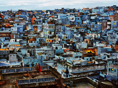 Steve McCurry, 'The Blue City, India', 2010