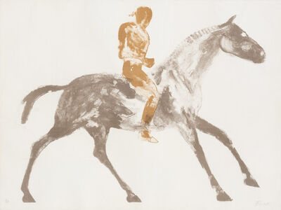 Elisabeth Frink, 'HORSE AND RIDER III (W. 45)', 1970-1971
