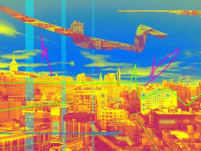 Carlos Rodal, 'Quetzalcoatl over fluorescent Manhattan', 2019