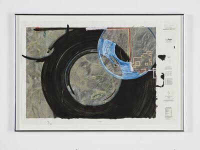 Oscar Tuazon, 'Water Map (Goshute Aquifer, Spring Valley, NV)', 2018