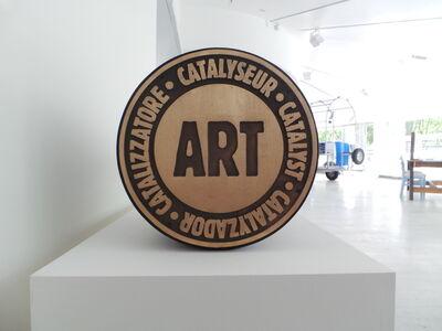 Lucy + Jorge Orta, 'Manifesto Stamp – Catalyst Art', 1984