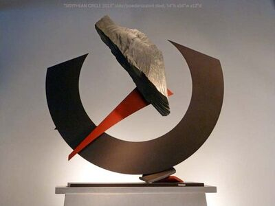 John Van Alstine, 'Sisyphean Circle 2013'