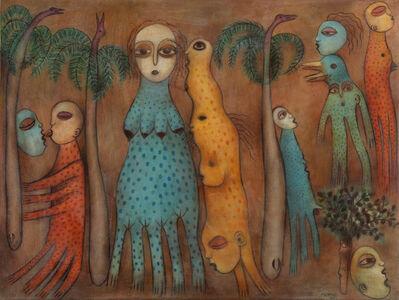 Manuel Mendive, 'Para el Ojo que Mira', 1987