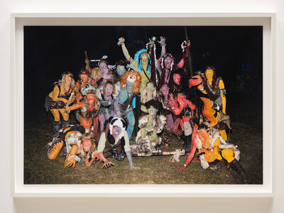 Sarah Anne Johnson, 'Cavemen, Icky Rainbow', 2015