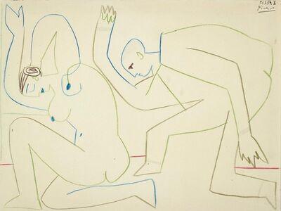 Pablo Picasso, 'La répétition', 1954