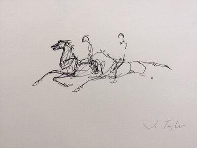 Jo Taylor (b. 1969), 'Horse Boys', 2019