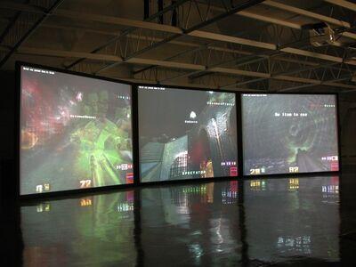 Feng Mengbo 冯梦波, 'Q4U', 2002