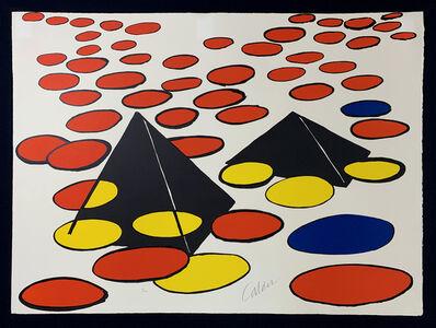 Alexander Calder, 'Black Pyramids', Circa 1970