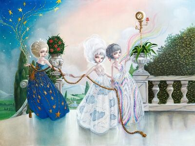Kukula, 'The Three Graces', 2015