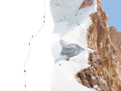Olivo Barbieri, 'Alps - Geographies and People #12', 2012