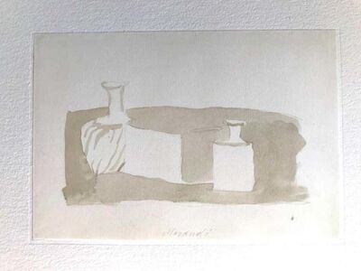 Giorgio Morandi, 'Still Life with Bottles', 1973