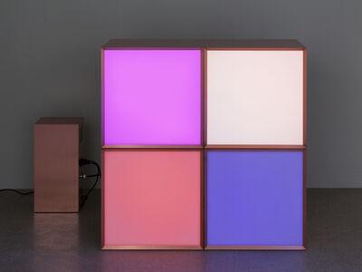 Angela Bulloch, 'Copper grid 4', 2010