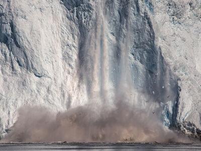 Diane Tuft, 'Eqi Glacier, De Quervain Havn, Greenland', 2016