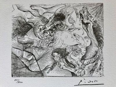 Pablo Picasso, 'Suite Vollard Planche XXIII', 1973