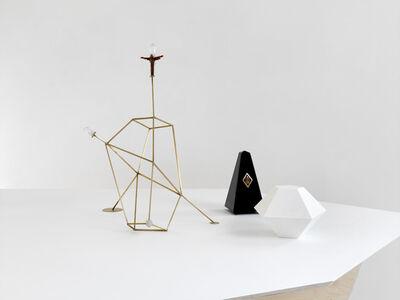 Björn Dahlem, 'Strahlkörper mit Metronom (Kristallogie)', 2015