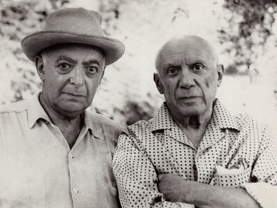 Brassaï, 'Self-Portrait of Brassai with Picasso', 1966/1966