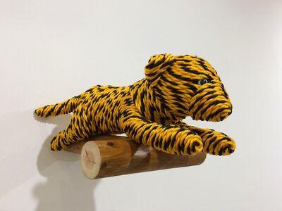 Okamoto Mitsuhiro, 'Baby Tiger, from Tiger Rope Pattern'