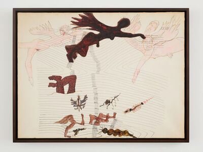 Carol Rama, 'Numeri onde', 1983