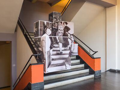 Georg Brückmann, 'Bauhaus Dessau 20 -  Die Bauhausweberinnen', 2017