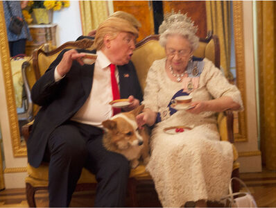 Alison Jackson, 'Trump and Queen', ca. 2018