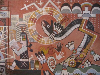 Michael Lomawywesa Kabotie, 'Changing Values'