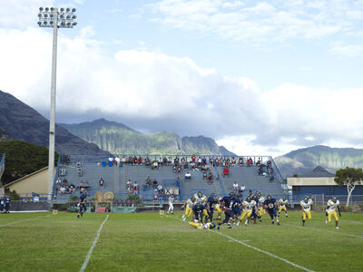 Catherine Opie, 'Football Landscape #16 (Waianae vs. Leilehua, Waianae, HI)', 2009