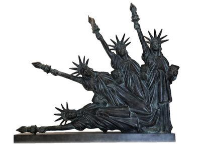 Marta Minujin, 'Estatua de la Libertad cayendo', sin fecha