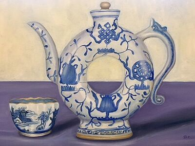 Stacey Cushner, 'Ancient Japanese Teapot and Cup', 2017