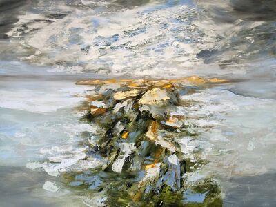 Réal Calder, 'Atlantique nord no.8', 2018