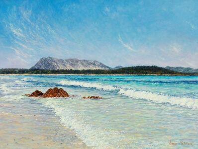 Yvonne Melchers, 'La Tavolara / Mediterranean Blues (Sardinia)', 2010