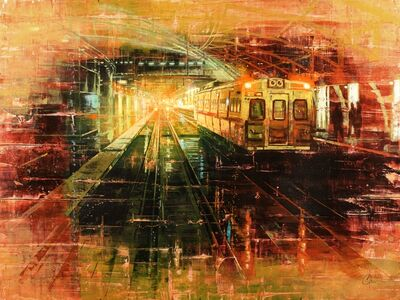 Christopher Clark, 'Denver - Tracks of Union Station', 2018