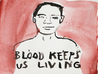 Casey McGlynn, 'Blood Keeps Us Living', 1997
