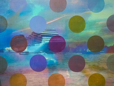Sarah Nind, 'Pistes et Points - Venezia 1!', 2015