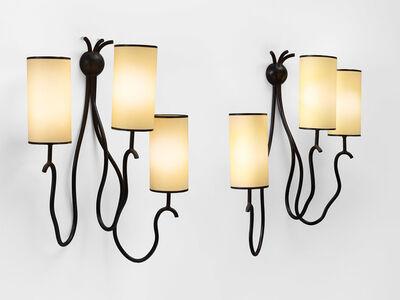 "Jean Royère, 'pair of ""liane"" wall lights', ca. 1964"