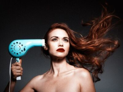 Tyler Shields, 'Hair Dryer 1965', 2015