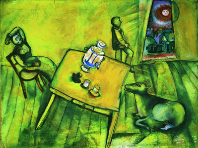 Marc Chagall, 'La chambre jaune(The Yellow Room)', 1911