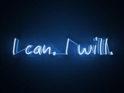 Mary Jo McGonagle, 'I can I will - neon art work', 2020