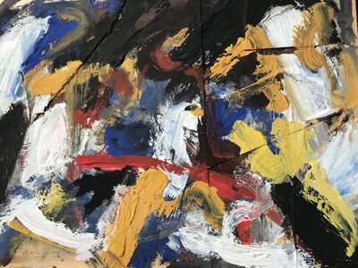 Michael Goldberg, 'Abstract Composition', ca. 1960
