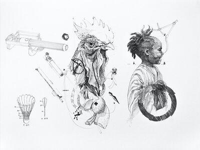 Nidhal Chamekh, 'Le Battement des Ailes No.X', 2017