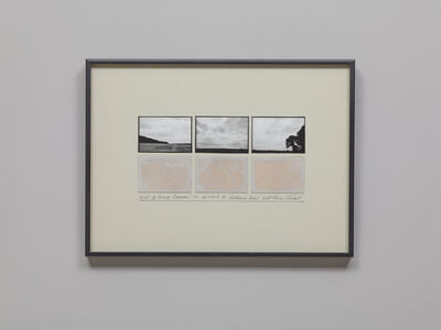 Michelle Stuart, 'NW of Long Barrow, N of Road to Silbury Hill, Wiltshire', 1980-1981