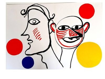 "Alexander Calder, 'Original Lithograph ""Behind the Mirror VIII"" by Alexander Calder', 1976"