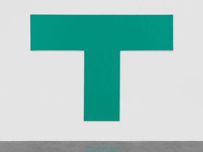 Olivier Mosset, 'Untitled (T)', 2013