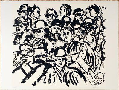 Lester Johnson, 'Tip of Broadway II', 1991