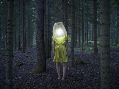 Elina Brotherus, 'Artist as Lamp', 2019
