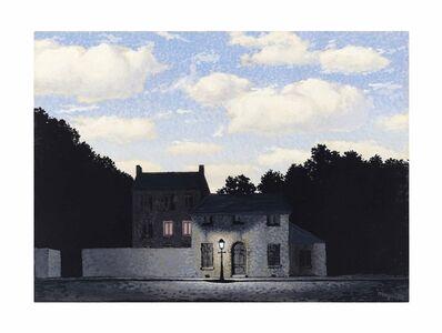 René Magritte, 'L'empire des lumières', 1955