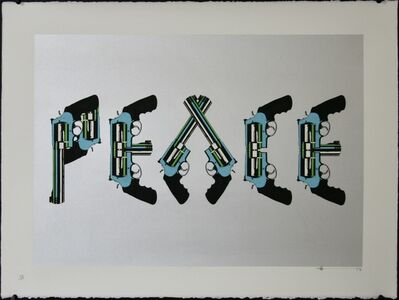 Paul Insect, 'PEACE', 2007